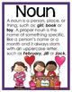 Valentine's Day Parts of Speech Center & Mini-Writing Acti