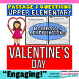Valentine's Day: : Passage and Questions: Reading Comprehe