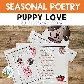 Poetry for February Fluency Practice ~Valentine's Day Poetry~