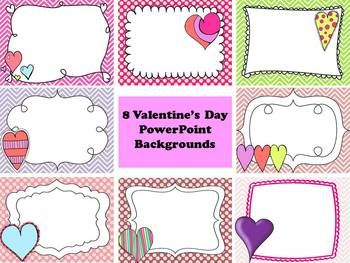 Valentine's Day PowerPoint Backgrounds