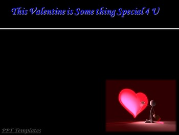 Valentines Day PowerPoint Presentation (PPT Slides) with B