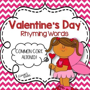 Valentine's Day Rhyming Words