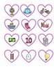 Valentine's Day SPANISH Alphabet Literacy Center (in color)