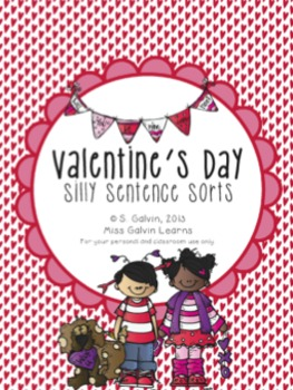 Valentine's Day Silly Sentence Sorts
