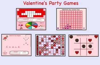 Valentine's Day Smartboard Party Games Lesson - Lessons