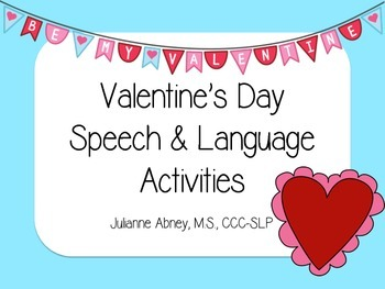 Valentine's Day Speech & Language Activities