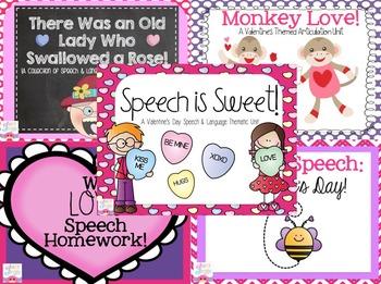 Valentine's Day Speech & Language Bundle!