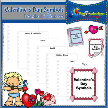 Valentine's Day Symbols Booklet