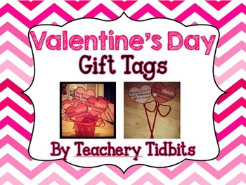 Valentine's Day Tags {Editable}