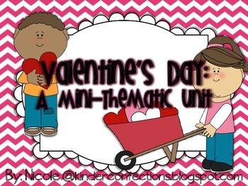 Valentines Day Theme Unit