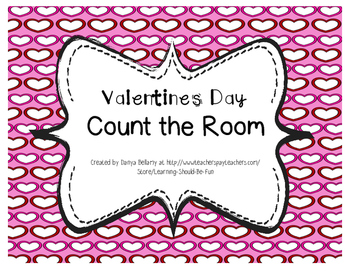 Valentines Day Themed: Count the Room 10 - 20