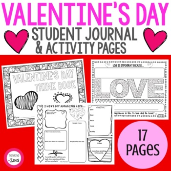 Valentine's Day Think Book