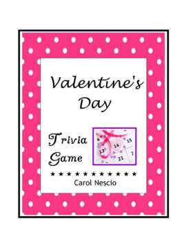 Valentine's Day Trivia ♥ Game For French, German, Spanish