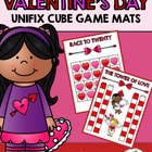 Valentine's Day Unifix Cube Game Mats