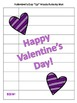 """Valentine's Day """"Up"""" Words Word Scramble Activity-Version Two"""