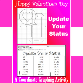 Valentine's Day - Update Your Status - A Coordinate Graphi