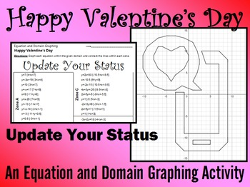 Valentine's Day - Update Your Status - A Linear Equation G