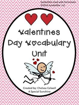 Valentine's Day Vocabulary Unit