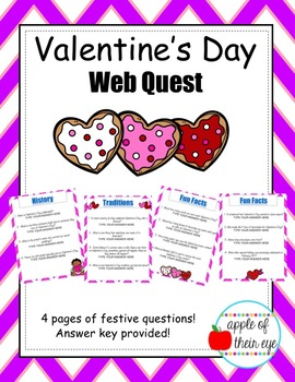Valentine's Day Web Quest!