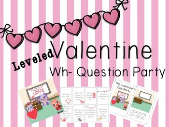 Valentine's Day Wh- Question Pack