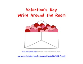 Valentine's Day Write Around the Room