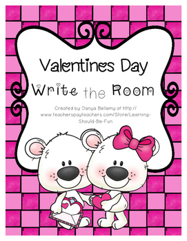Valentines Day Write the Room