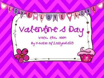 Valentine's Day Write-the-room