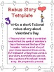 Valentine's Day Pick a Project Choice Menus, Writing Activ