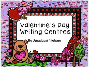 Valentine's Day Writing Centres
