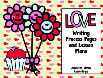 Valentine's Day Writing Process Papers