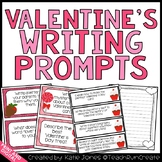Valentine's Day Writing {Writing Prompts for the Common Core}