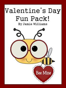 Valentine's Day activities for grades 1-3