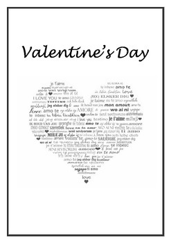 Valentine's Day for ESL students