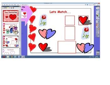 Valentine's Day for Promethean Board Activboard