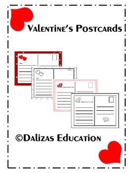 Valentine's Day postcards   Valentine's day cards
