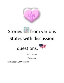 Valentine's Day short stories with comprehension and think