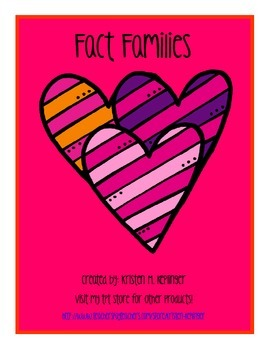 Valentine's Fact Families