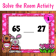Greater Than Less Than Valentine's Day Solve the Room Activity
