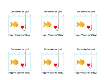 Valentine's - I'm Hooked on You!