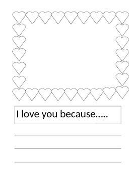 Valentines Journal prompt