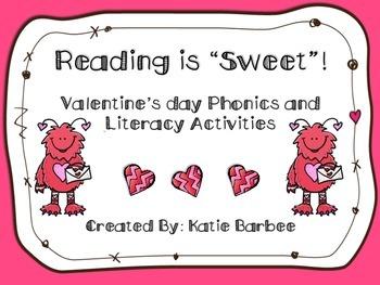 Valentine's Literacy Center Pack