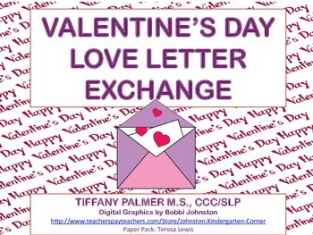 Valentine's Love Letter Exchange