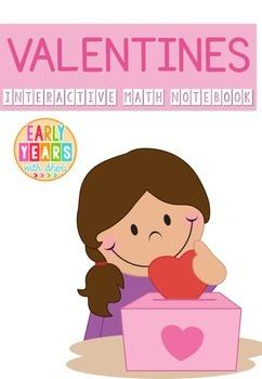Valentine's Math Interactive Notebook