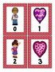 Valentine's Math Scavenger Hunt: Numerals, Ten Frames, Cou