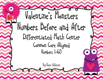 Valentine's Numbers Before and After {Differentiated & Ali