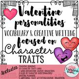 Valentine Vocabulary Writing Project-Valentine Personaliti