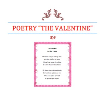 POETRY-The Valentine