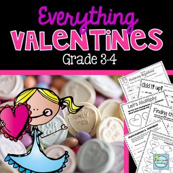Valentine's Day 3rd Grade ~ Valentines Activities 3rd Grade