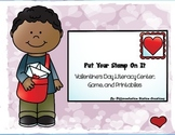 "Valentine's ""Put Your Stamp On It!"" Literacy Centers, Game"