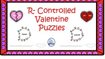 Valentine's R-Controlled Syllable Puzzles